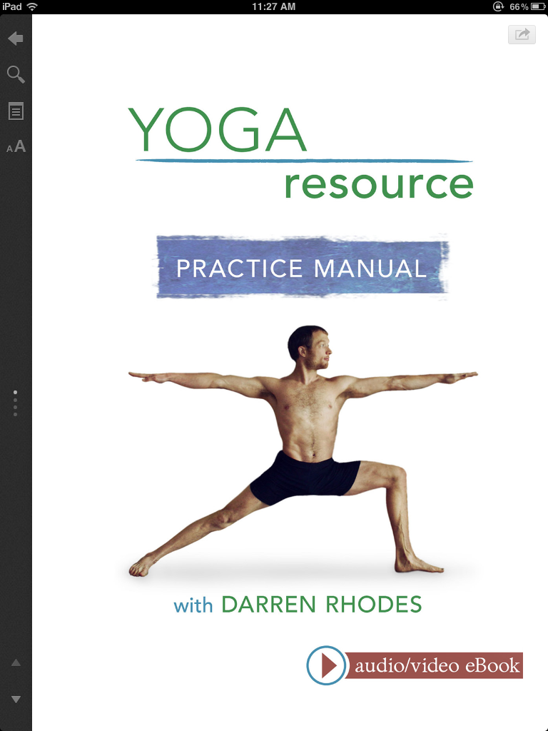 Fashion Book Cover Yoga ~ Review darren rhodes yoga resource practice manual ebook