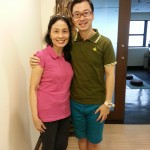 My first encounter with Victor Chng. After that, there was no turning back from yin yoga.