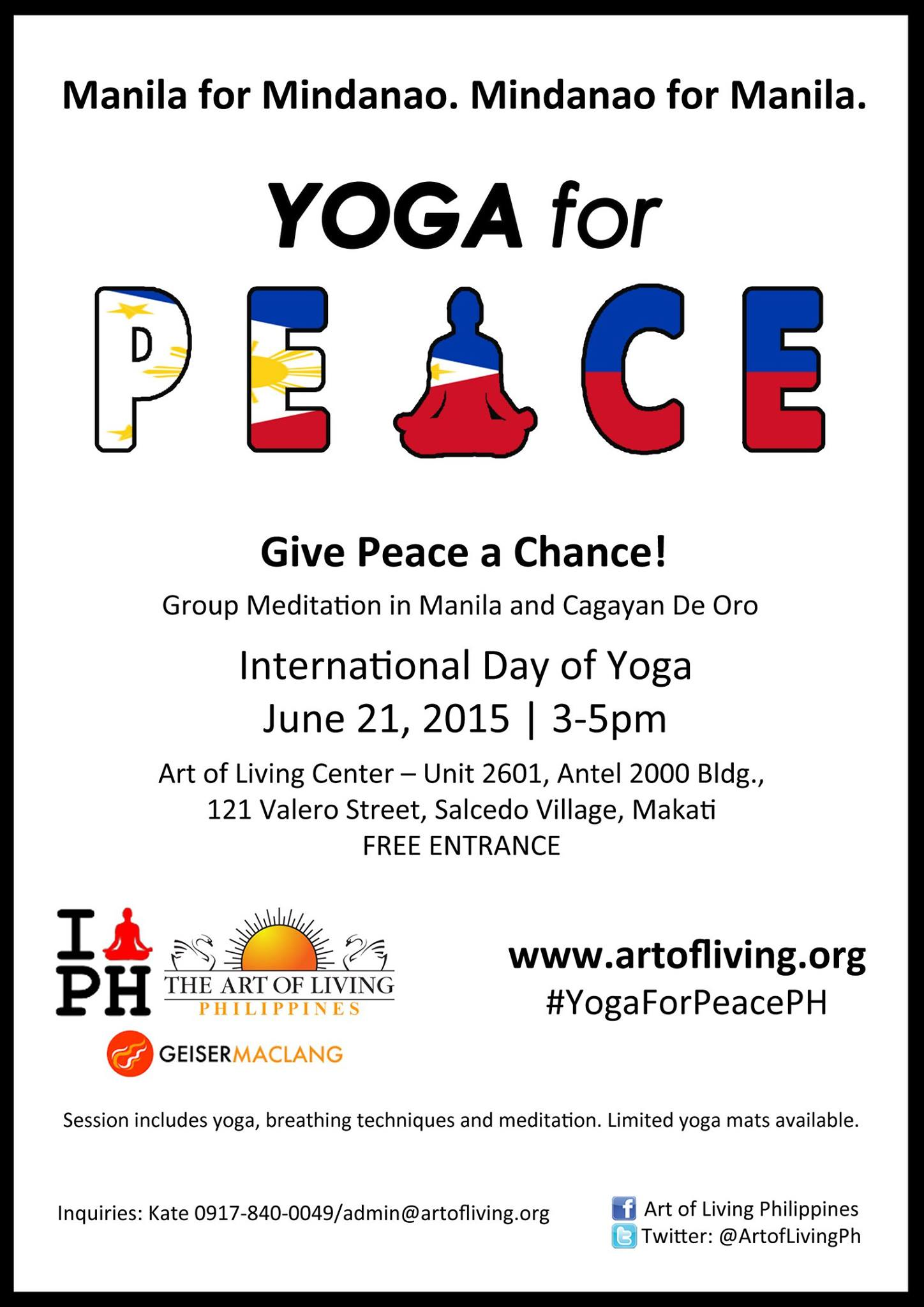 Celebrate With Us The First International Day Of Yoga On